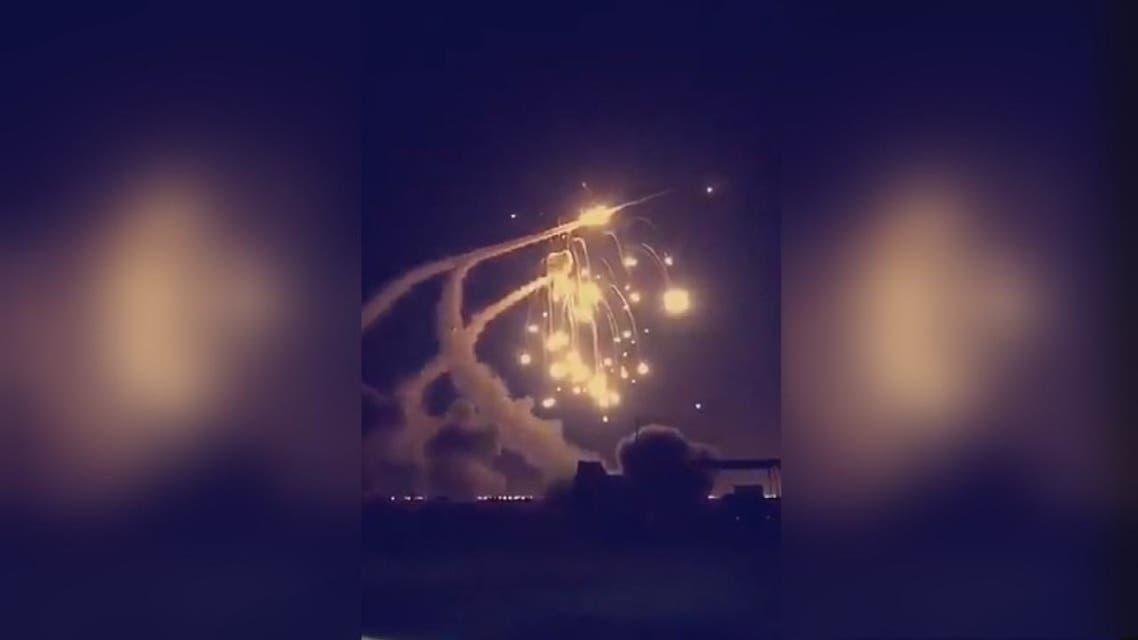 اعتراض وتدمير7 صواريخ باليستية باتجاه السعودية