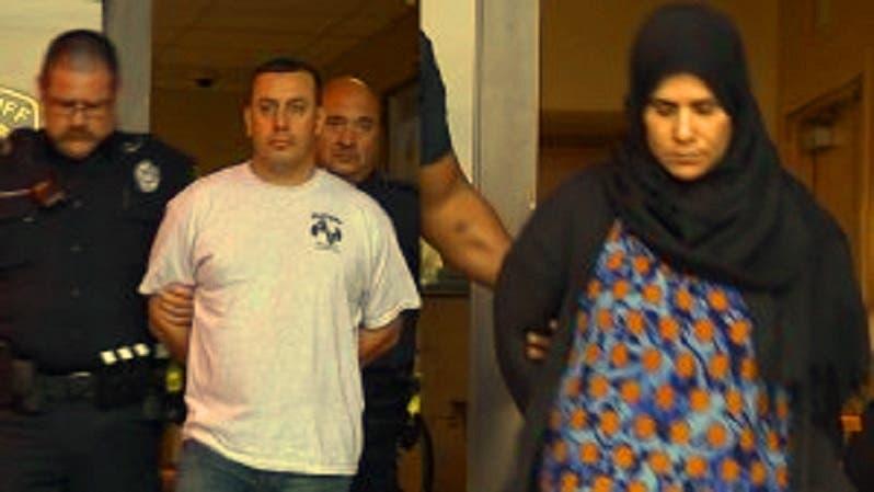ويوم الجمعة الماضي اعتقلوا الهشماوي وزوجته بتهمة قد تمتد إلى التزويج بالإكراه