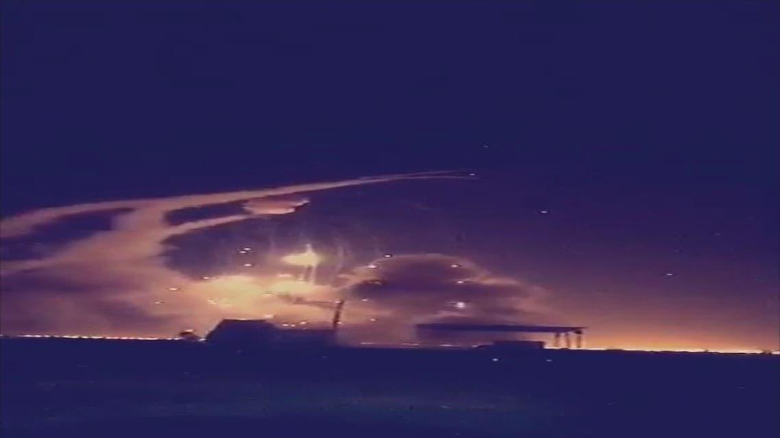 استطاعت القوات الدفاع الجوي السعودي قبل قليل من مساء اليوم الأحد، اعتراض صواريخ باليستية، تم إطلاقها