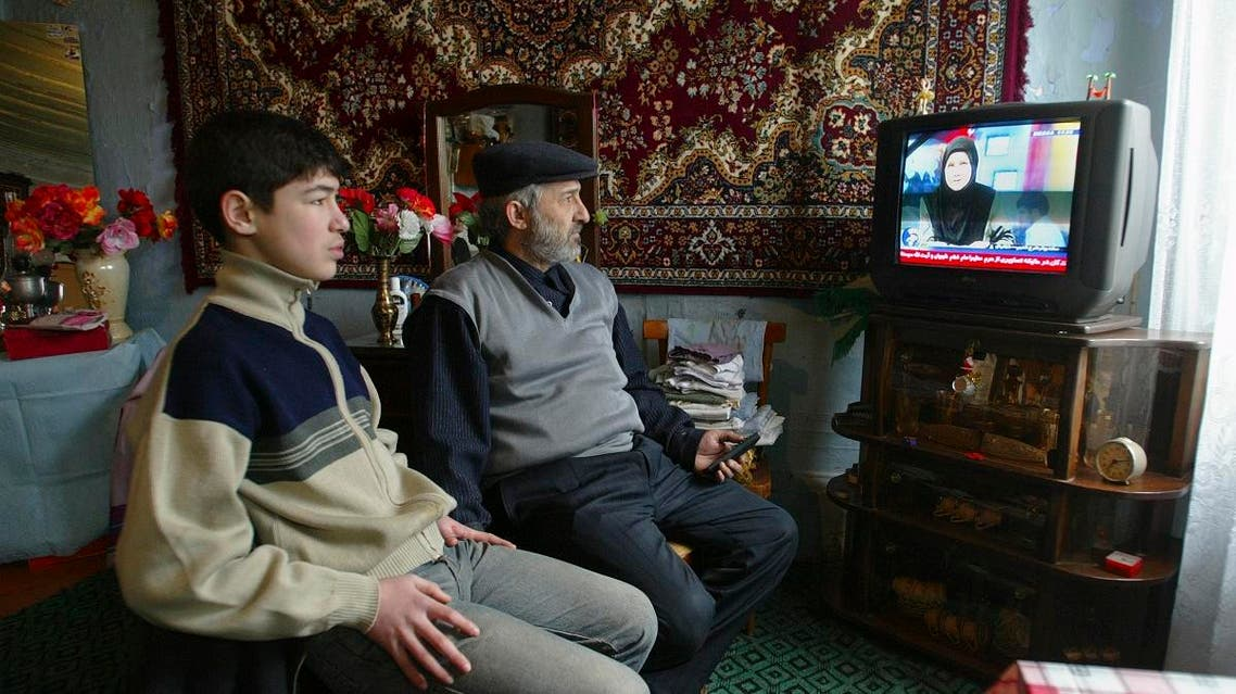 In the southern regions of Azerbaijan, Iran has stepped up its media campaign to win the hearts and minds of people with increasing numbers of television and radio channels available in the local Azeri language, rather than in Iran's native Persian language. (File photo: AP)