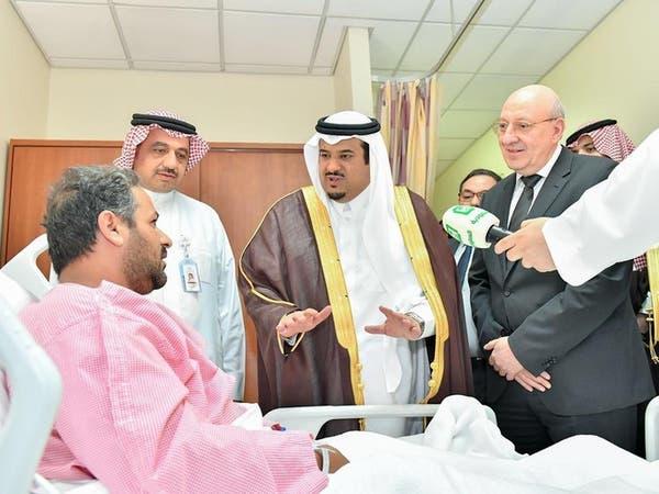 نائب أمير الرياض ينقل تعازي قيادة المملكة لأسرة الشهيد