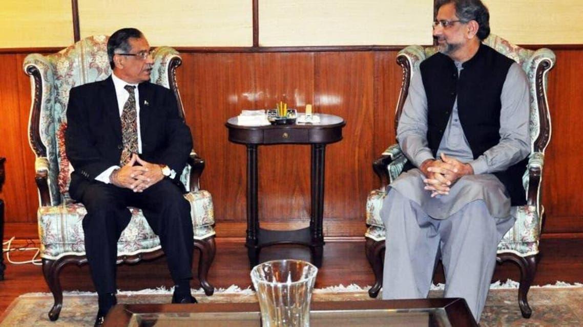 PM Pakistan Meeting With CJ Saqib Nisar