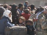 تهجير الغوطة.. الحافلات مستعدة لنقل الآلاف إلى إدلب