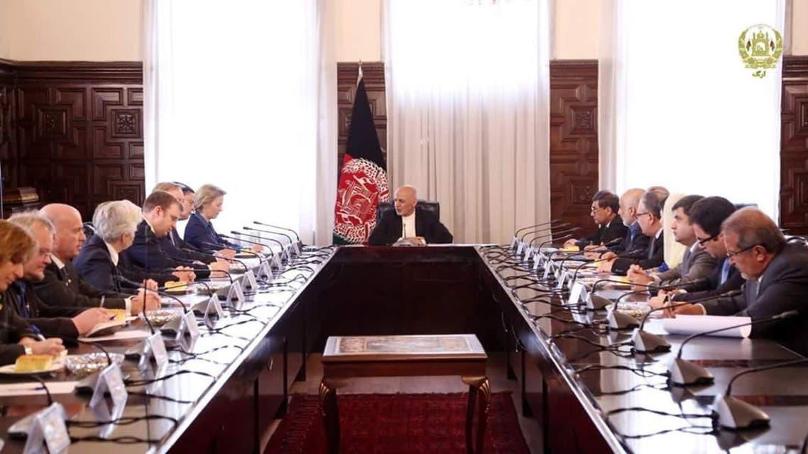 وزیر دفاع آلمان در افغانستان