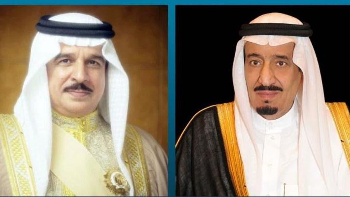 الملك سلمان والملك حمد