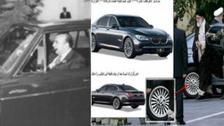 جرمن BMW میں سواری کرنے والے علی خامنہ ای مقامی مصنوعات کی سپورٹ کے طالب