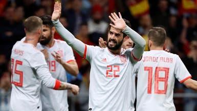 إسبانيا تسقط الأرجنتين بسداسية.. وميسي يغادر الملعب