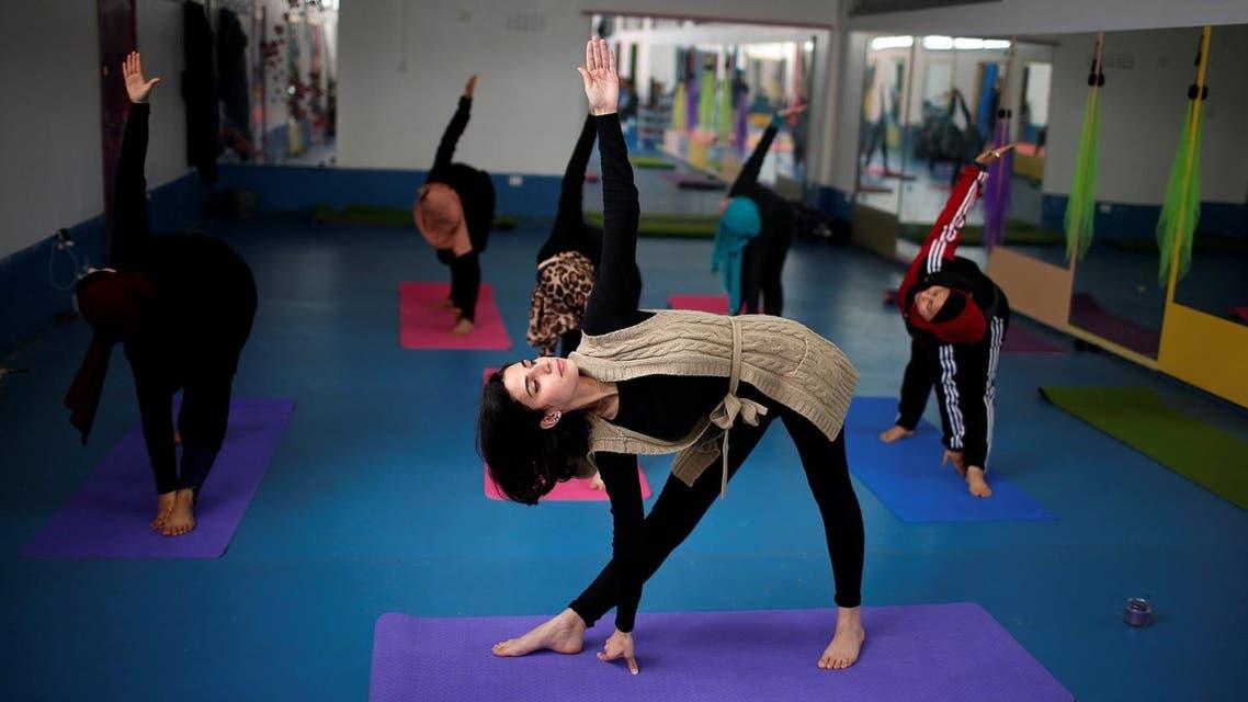 yoga reuters
