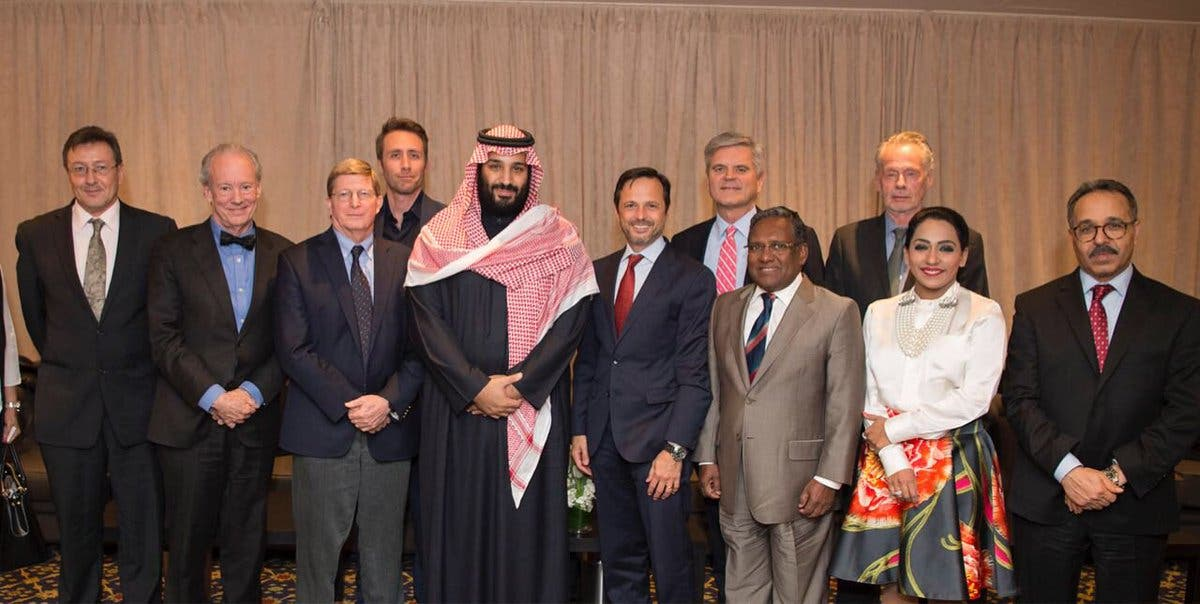 IN PICTURES: Saudi Crown Prince meets with 40 executives of US companies