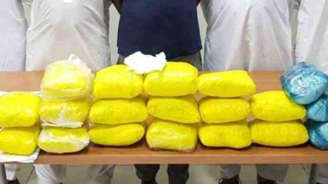Image credit (Dubai Police/Gulf News) Drug dealers arrested in Dubai for smuggling 20kg of heroin