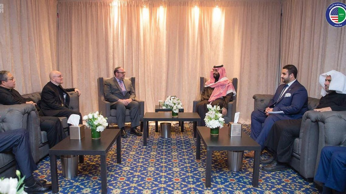 Saudi Crown Prince meets with number of US religious leaders
