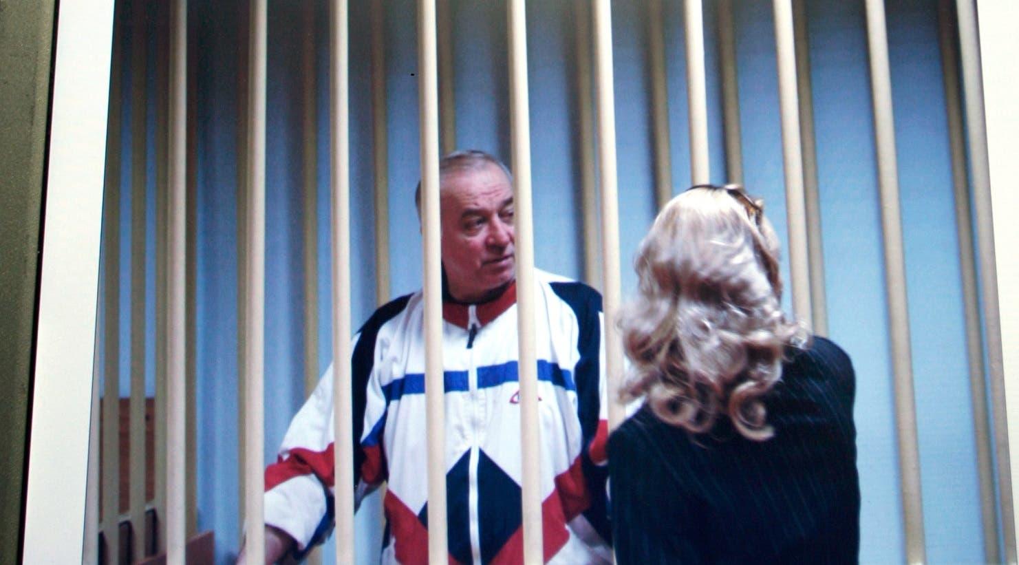 سيرغي سكريبال خلال محاكمة في روسيا (أرشيفية)