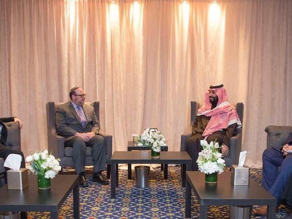 نيويورك.. ولي العهد السعودي يلتقي قيادات دينية بأميركا