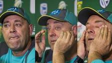 Australian coach Lehmann resigns as disgraced trio return to Australia