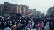 شاهد الأمن الإيراني يقمع مظاهرات عرب الأهواز بالمطاطي