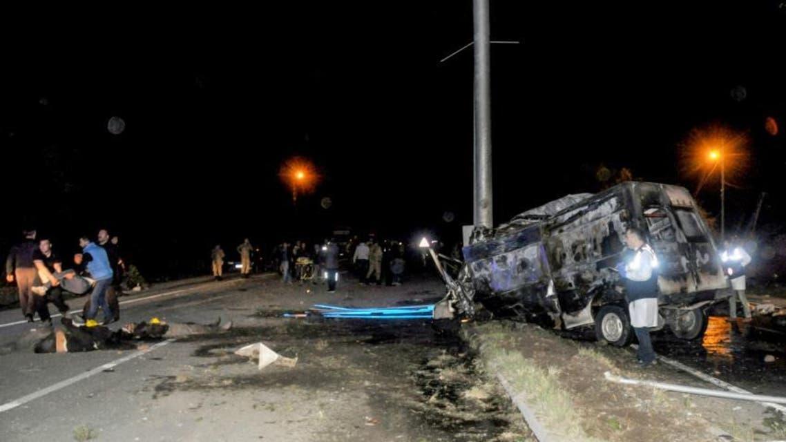 Turkey Buss accident