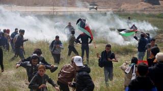 غزة..7 قتلى 1070 جريحا فلسطينيا في مواجهات الاحتلال