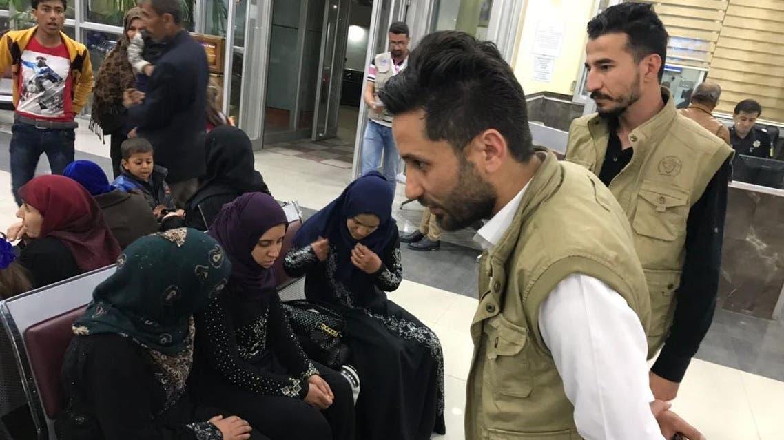 نازحون عراقيون يعودون من تركيا إلى العراق