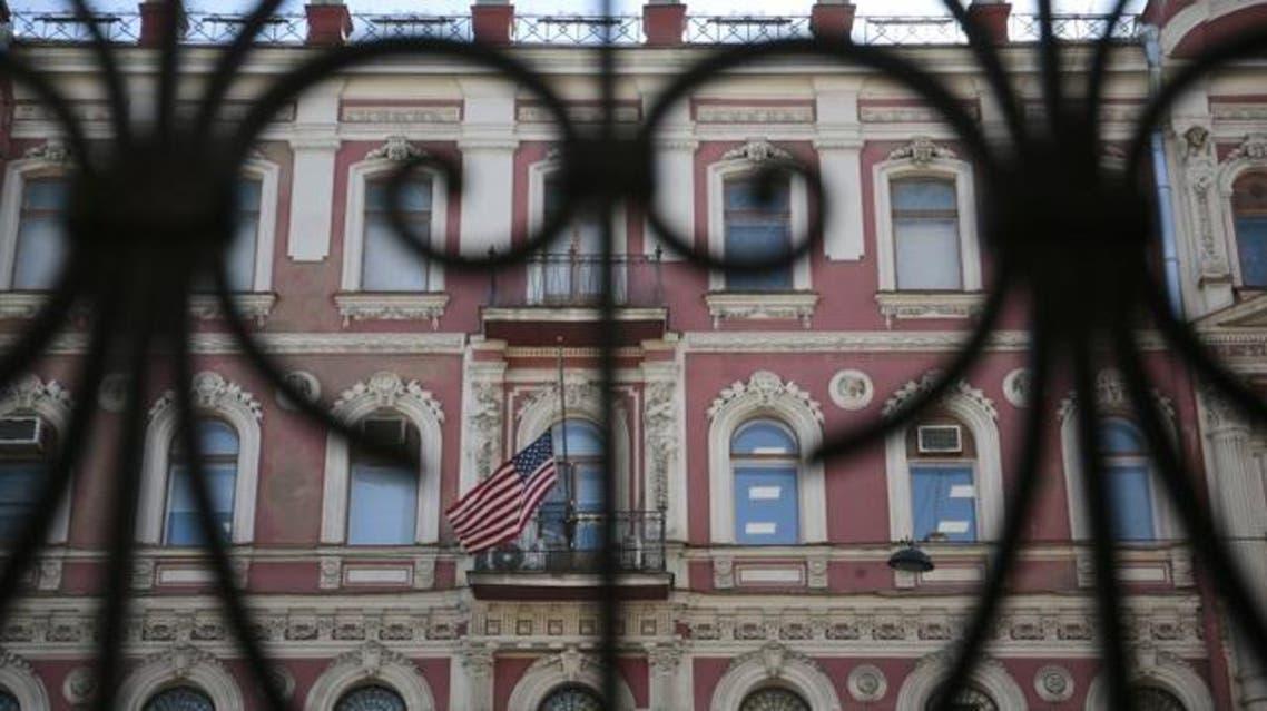 القنصلية الأميركية في مدينة سان بطرسبرغ الروسية