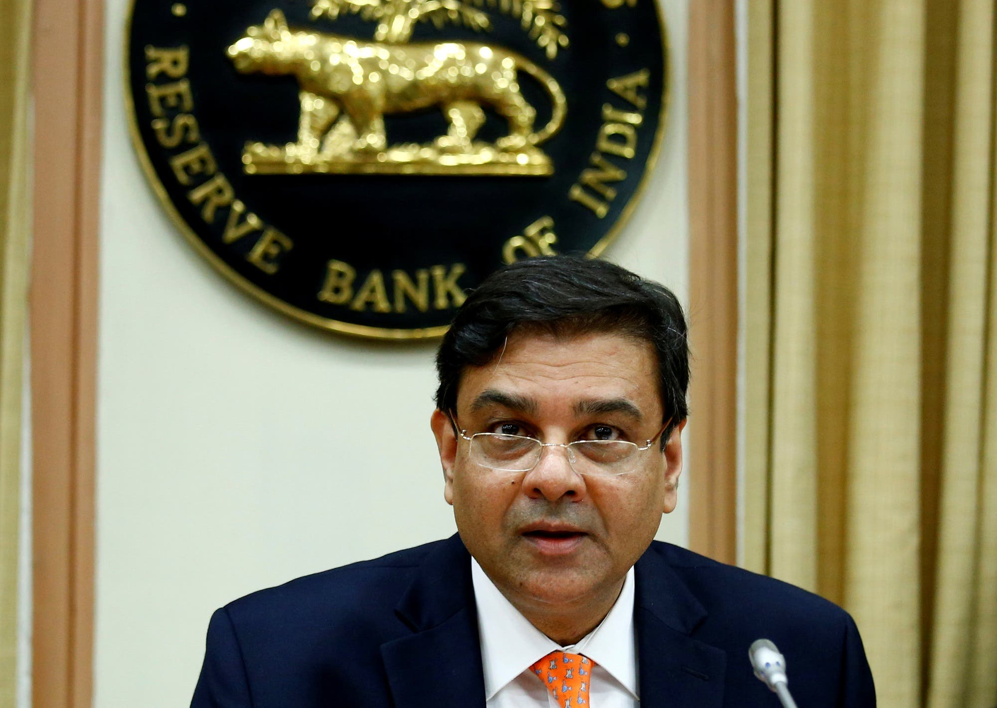 Urjit patel india apex bank. (Reuters)