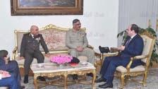 مصر: پاک فوج کے جوائنٹ چیف آف اسٹاف کی صدرالسیسی سے ملاقات