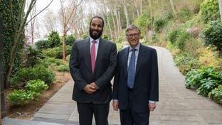 محمد بن سلمان يبحث مع بيل غيتس المشروعات المشتركة