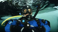 Saudi woman shares her story on diving, living in the North Pole for five days