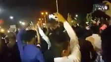 WATCH: Ahwaz protesters rally across new areas overnight