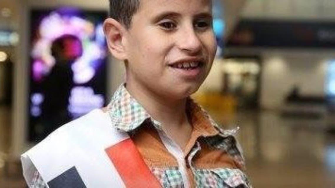 طفل مصري كفيف حفظ القرآن