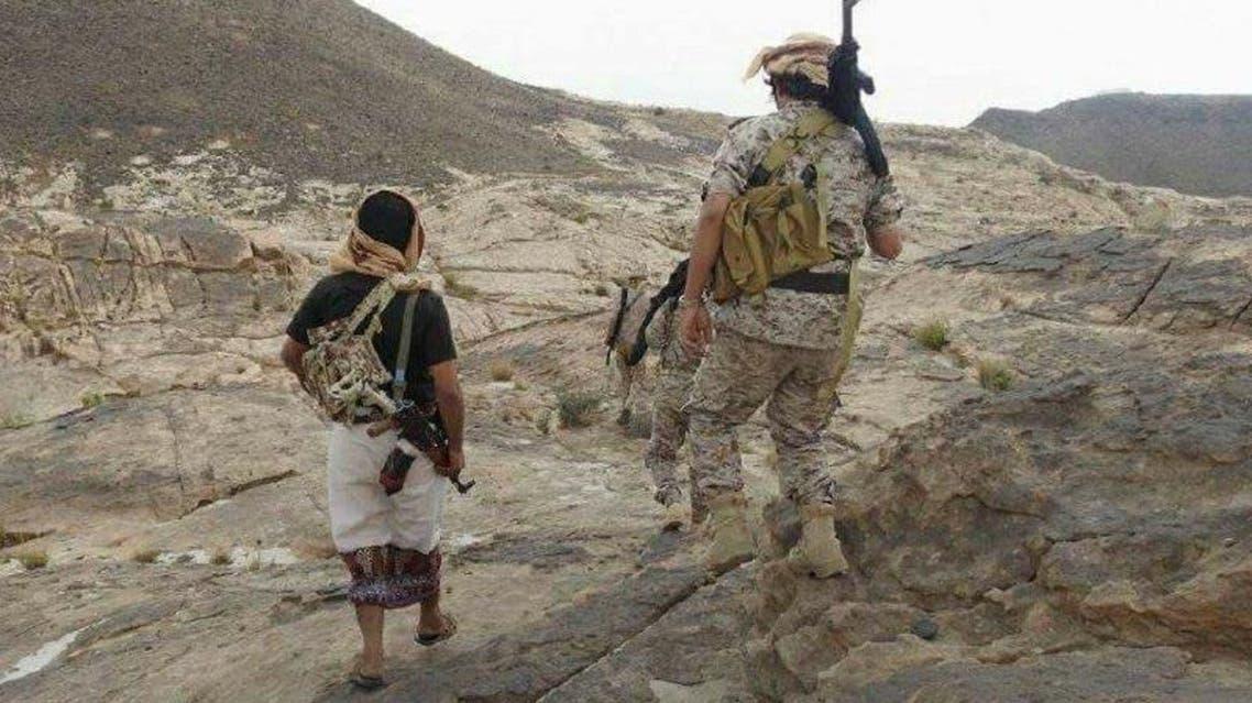 الجيش اليمني في مرتفعات مديرية باقم محافظة صعدة