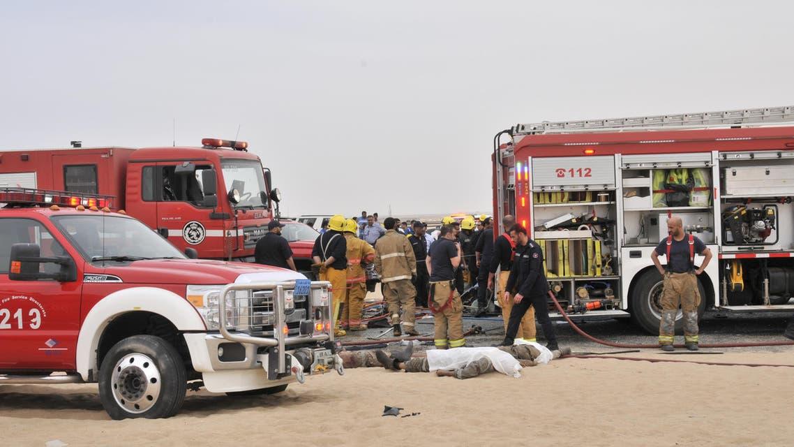 kuwait road accident