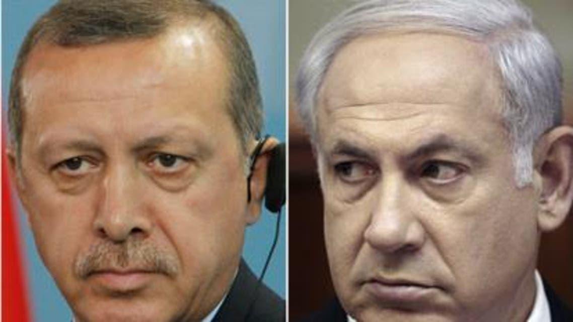 دعوای لفظی میان اردوغان و نتانیاهو در باره قتل 16 فلسطینی