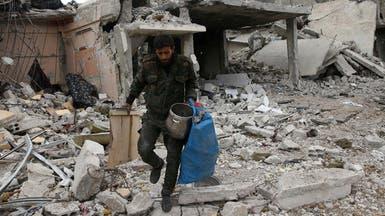 40 قتيلا بينهم أطفال بغارات نظام الأسد على دوما
