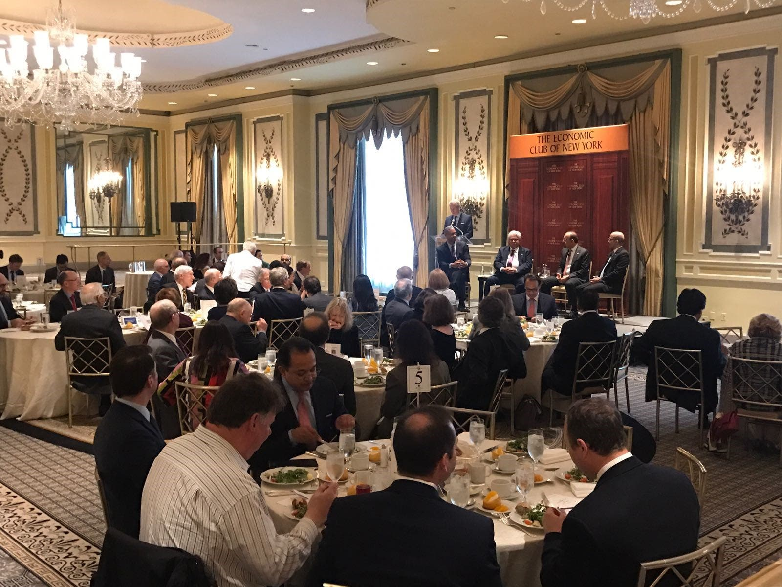 At Economic Club of New York, Saudi ministers showcase new economic prospects
