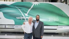 Saudi Crown Prince, Richard Branson tour Mojave Air and Space Port