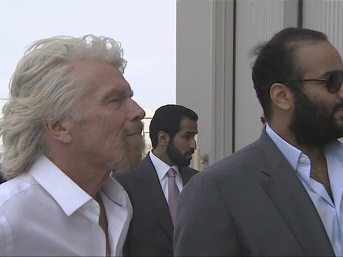 محمد بن سلمان يزور ميناء موهافي للطيران في كاليفورنيا
