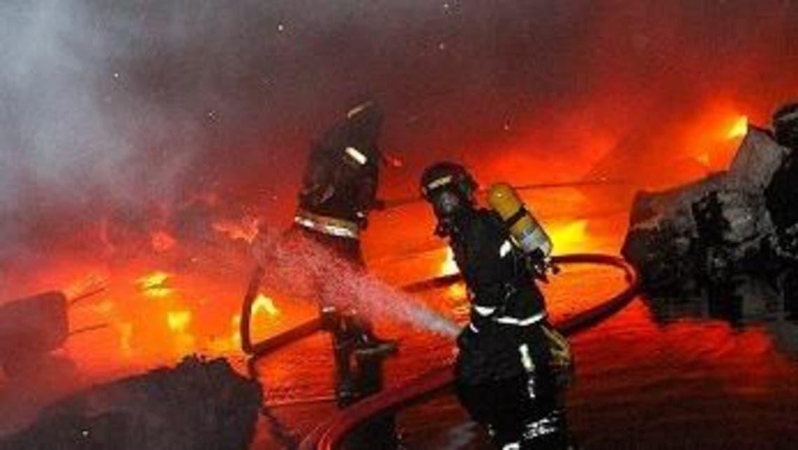 آتش سوزی اهواز