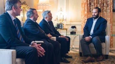 """محمد بن سلمان يبحث مع """"وارنر برذرز"""" شراكة في الترفيه"""