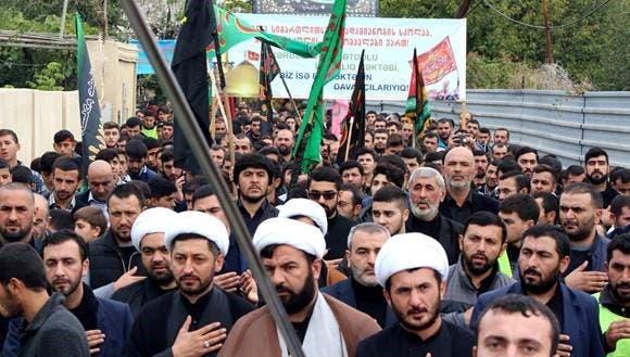 Ashura procession in Georgia (photo by Jeikhun Muhamedali)