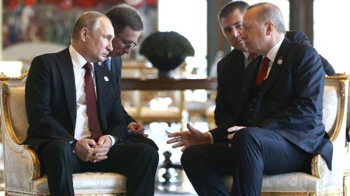 الرئيس التركي والرئيس الروسي