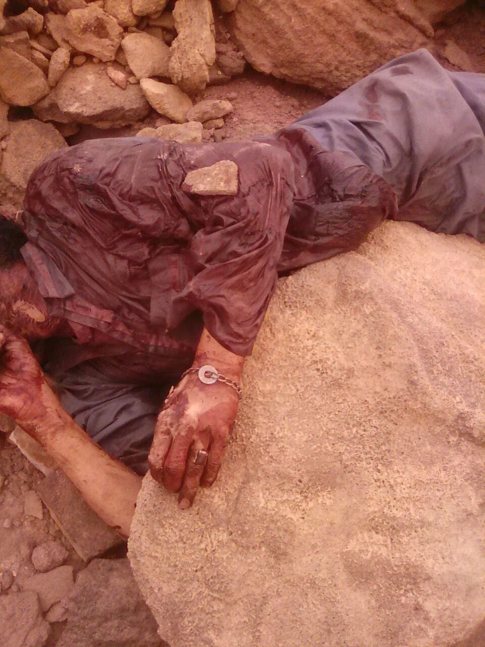 واحد من قتلى الحوثي