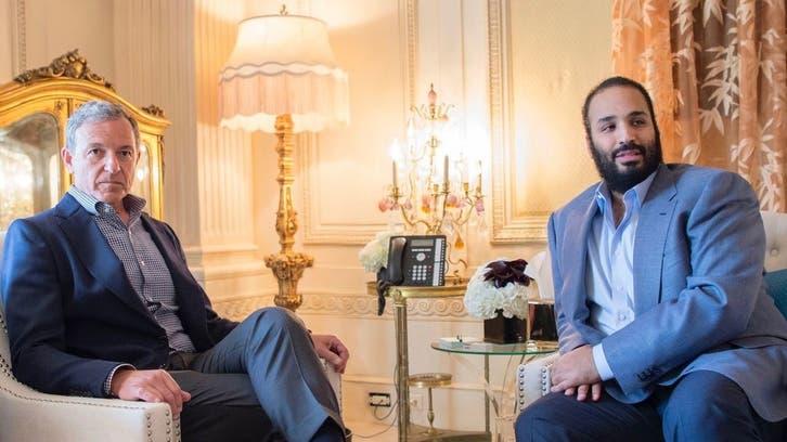 محمد بن سلمان يبحث فرص التعاون مع رئيس