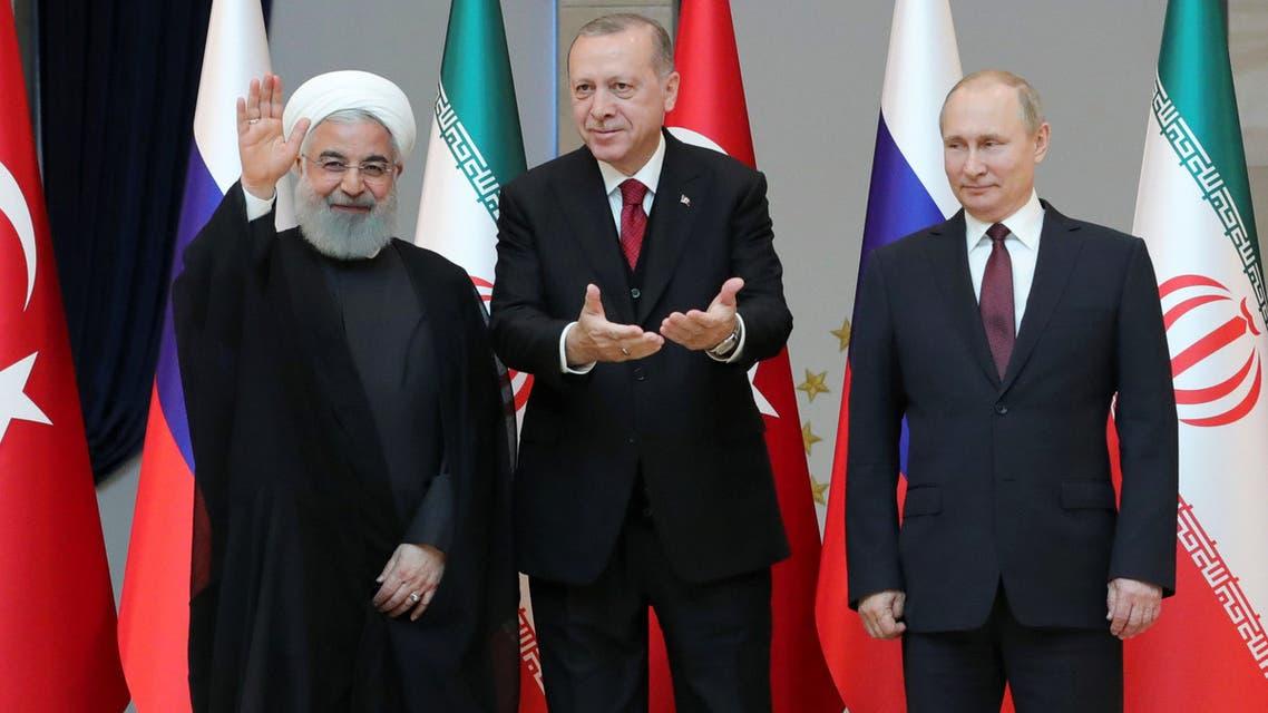 روسيا - تركيا - إيران