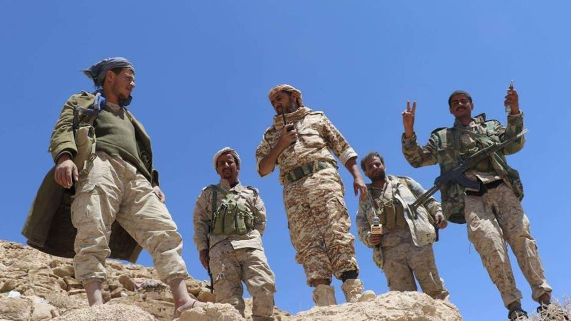 الجيش اليمني في جبهة نهم