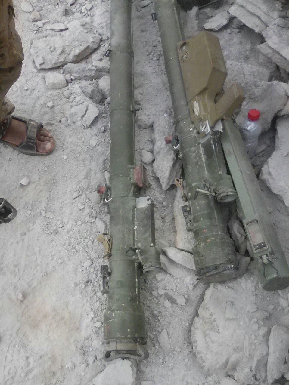 من أسلحة الحوثي