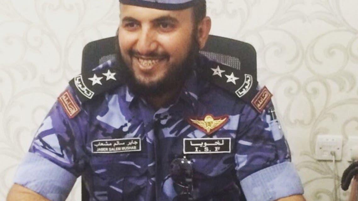 الضابط في الصاعقة القطرية جابر سالم مشعاب