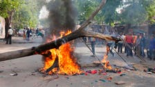 Mob in India burns homes in fresh caste violence