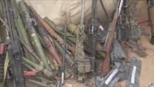 """فيديو لصواريخ إيرانية """"غنيمة الشرعية"""" من أوكار الحوثيين"""
