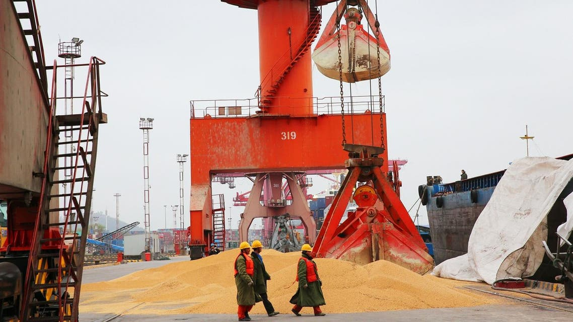 China unveiled plans on April 4 to hit major US exports worth $50 billion such as soybeans, cars and small airplanes with retaliatory tariffs in an escalating trade duel between the world's two top economies. (AFP)