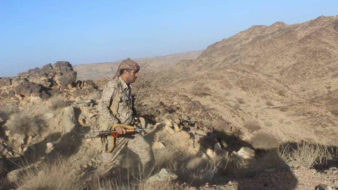 الجيش اليمني في جبال قانية بين البيضاء ومارب